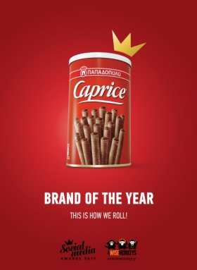 Caprice Παπαδοπούλου: Brand of the Year με 18 βραβεία στα φετινά Social Media Awards