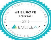 Το 1ο βραβείο στη L'Oréal ως κορυφαία εταιρεία ισότητας των φύλων στην Ευρώπη